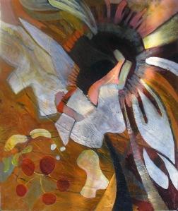 Freeform interpretation of Hibiscus
